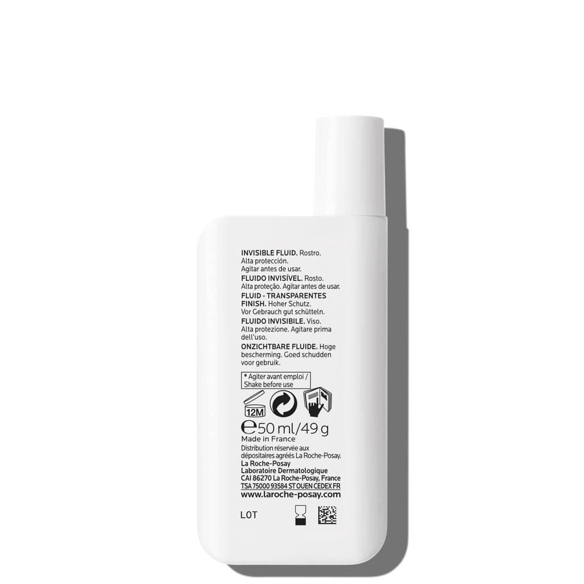 Anthelios Niewidoczny Fluid Spf 50 50 ml | La Roche Posay