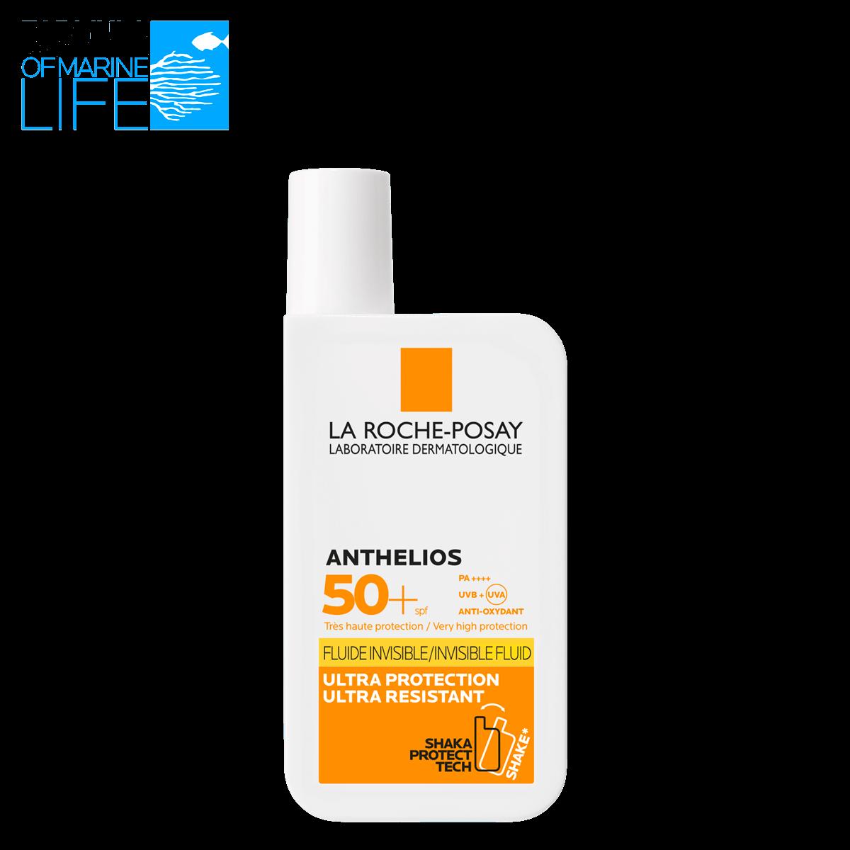 ANTHELIOS NIEWIDOCZNY FLUID SPF 50 przód | La Roche Posay