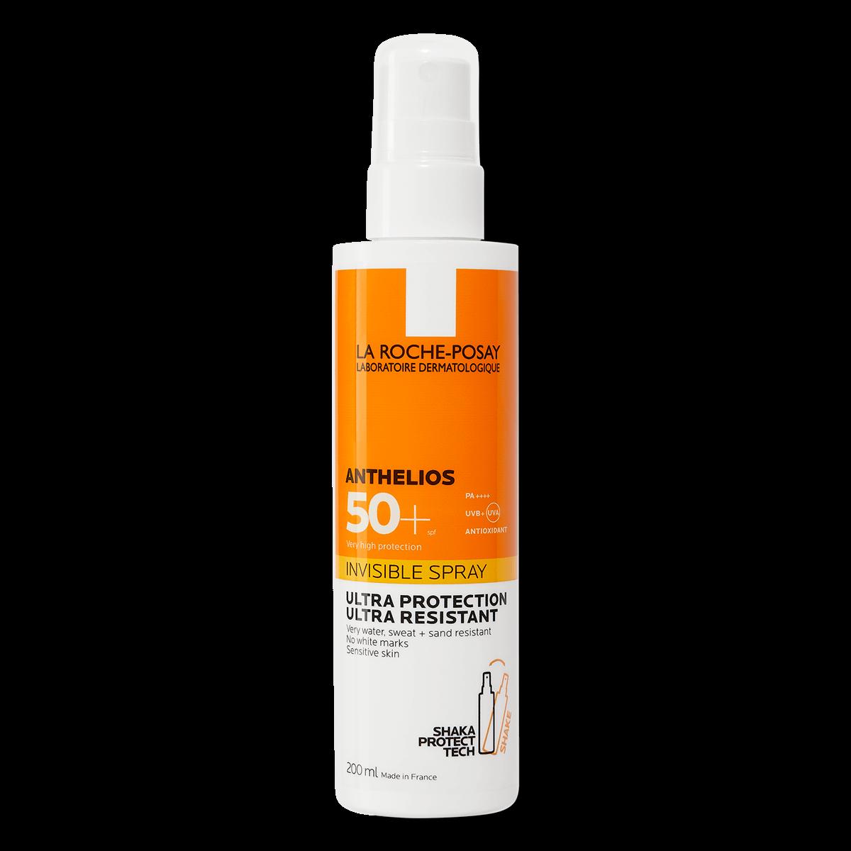 ANTHELIOS DERMO-PEDIATRICS NIEWIDOCZNY SPRAY SPF 50+ 200 ml FSS | La Roche Posay