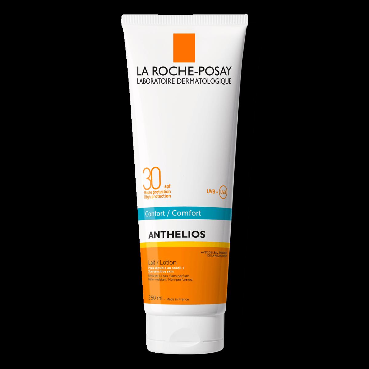 ANTHELIOS NIEWIDOCZNY BALSAM SPF 30 przód 250 ml | La Roche Posay