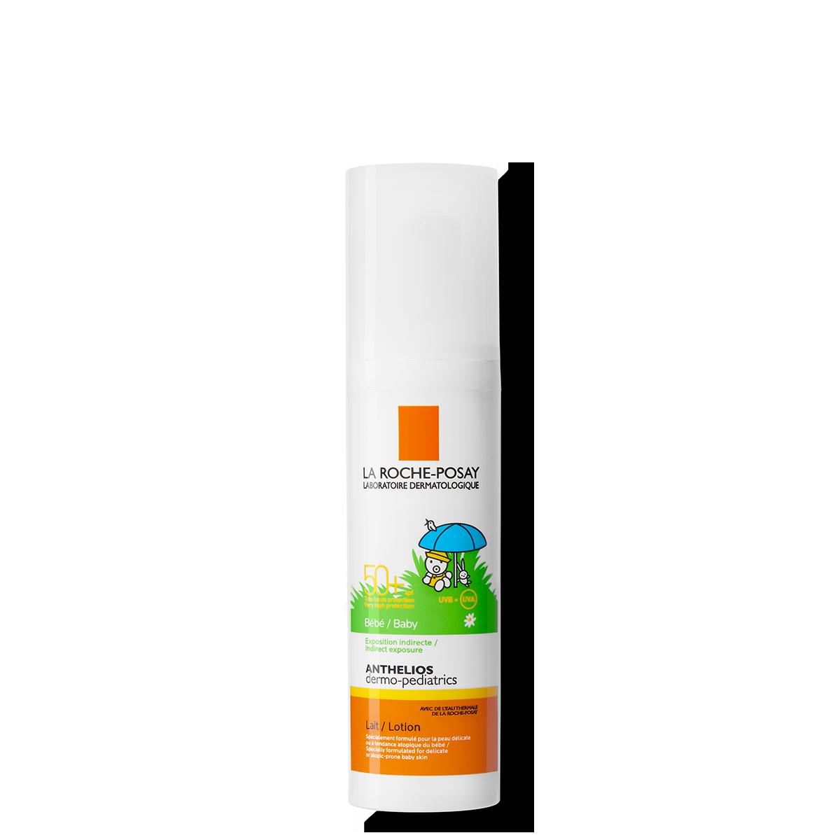 ANTHELIOS DERMO-PEDIATRICS NIEWIDOCZNY SPRAY SPF 50+ 50 ml przód | La Roche Posay