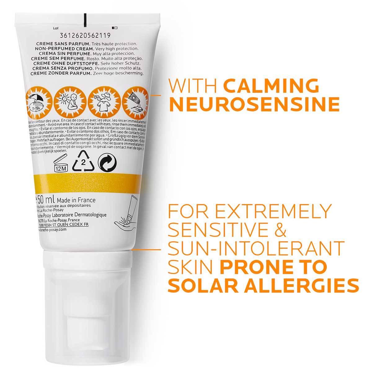 Słońce Anthelios Med Sun Intolerance Spf 50 50 ml | La Roche Posay 2