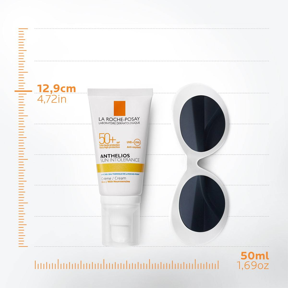 Słońce Anthelios Med Sun Intolerance Spf 50 50 ml | La Roche Posay 1