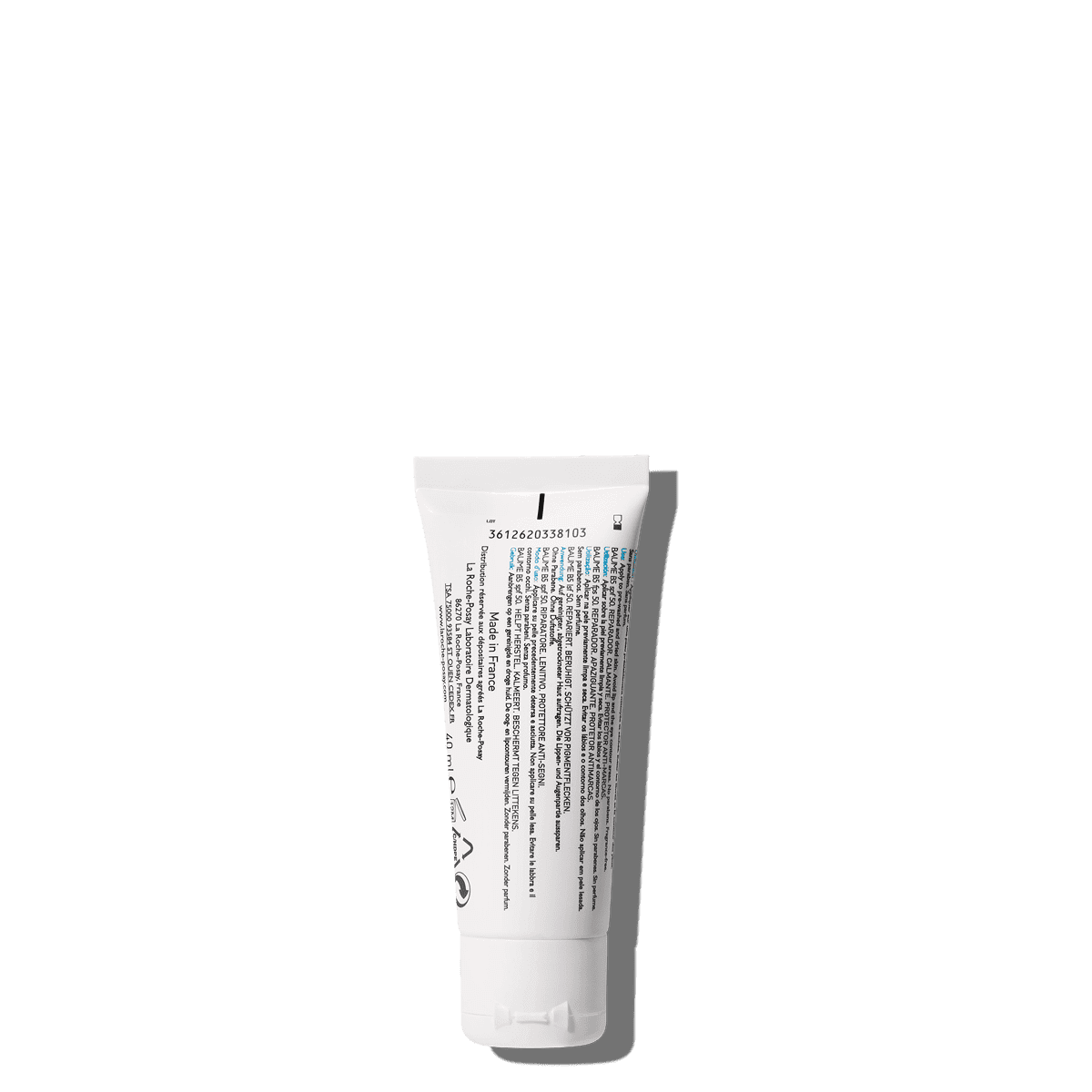 Cicaplast Baume B5 40 ml SPF 50 Tył | La Roche Posay