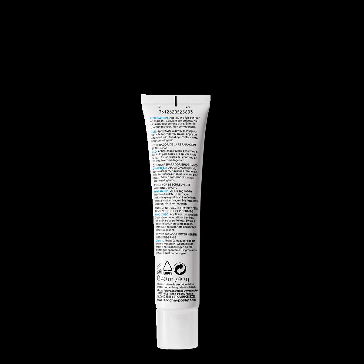 Cicaplast Żel B5 40 ml Tył | La Roche Posay