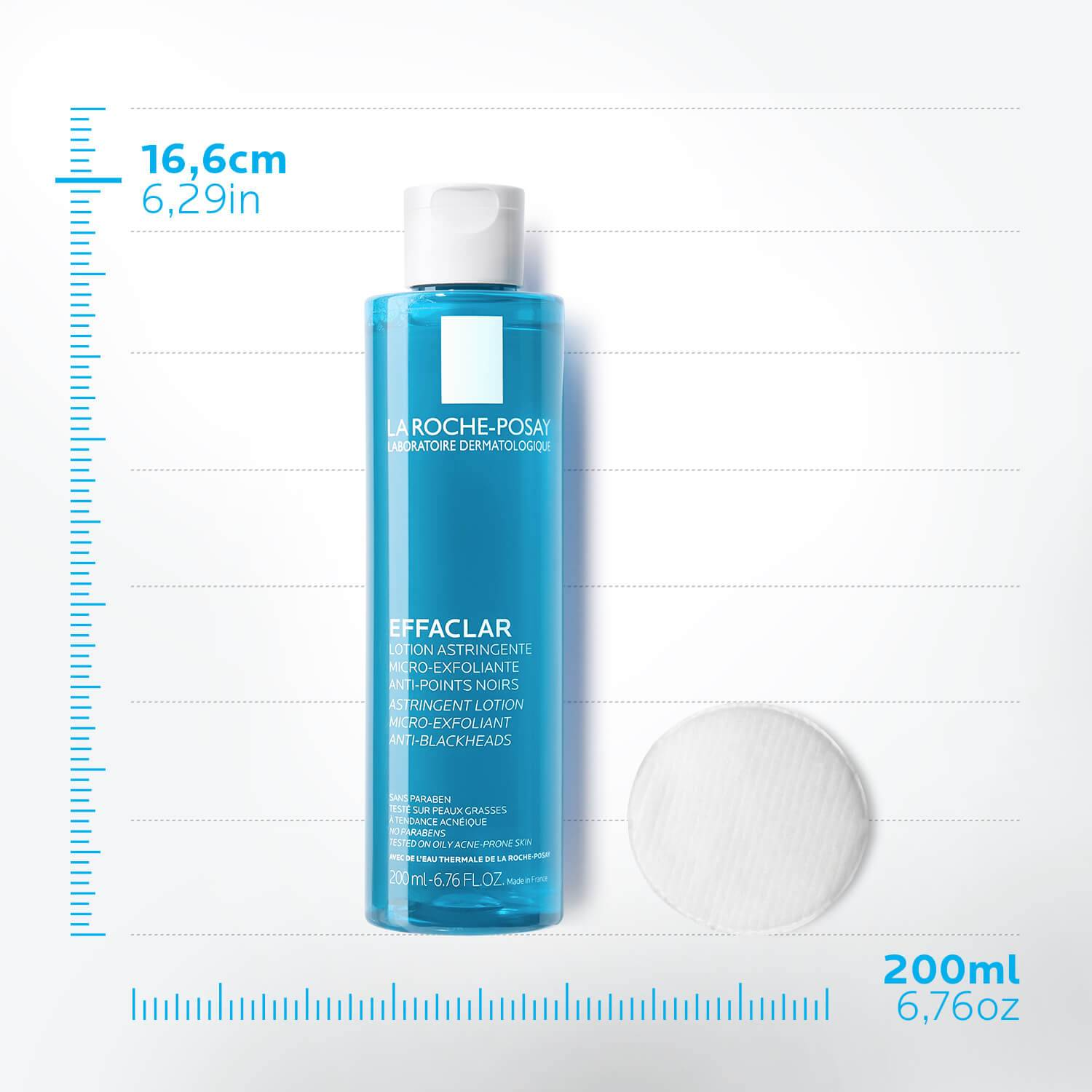 Product Page Acne Face CareEffaclar Micro Exfoliating Astringent | La Roche Posay