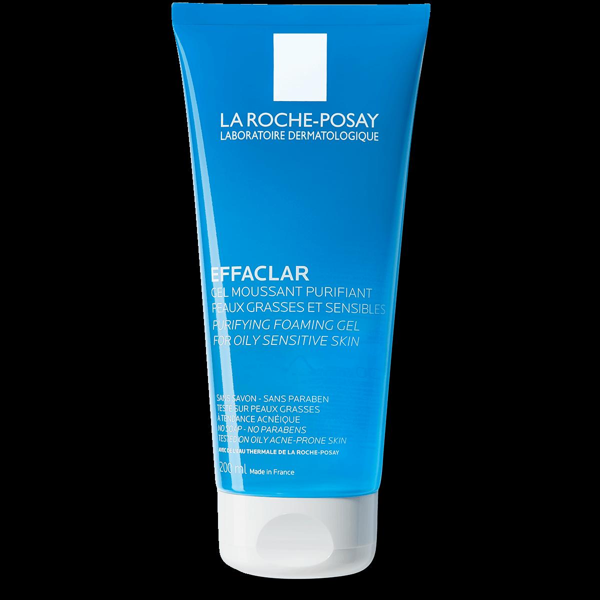 Effaclar żel oczyszczający do twarzy EFFACLAR OCZYSZCZAJĄCY ŻEL 200 ml Przód | La Roche Posay