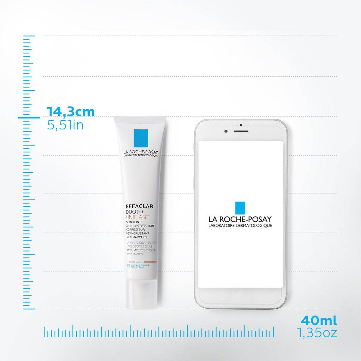 Pielęgnacja twarzyEffaclar Duo plus Unifiant Light 40 ml | La Roche Posay