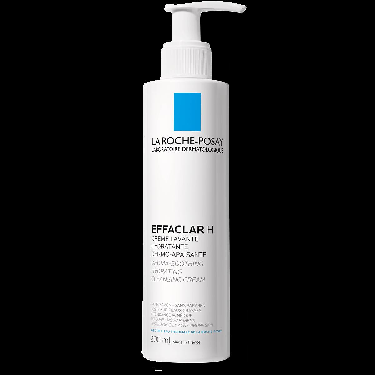 Effaclar h krem myjący EFFACLAR H KOJĄCO-NAWILŻAJĄCY KREM MYJĄCY 200 ml Przód | La Roche Posay