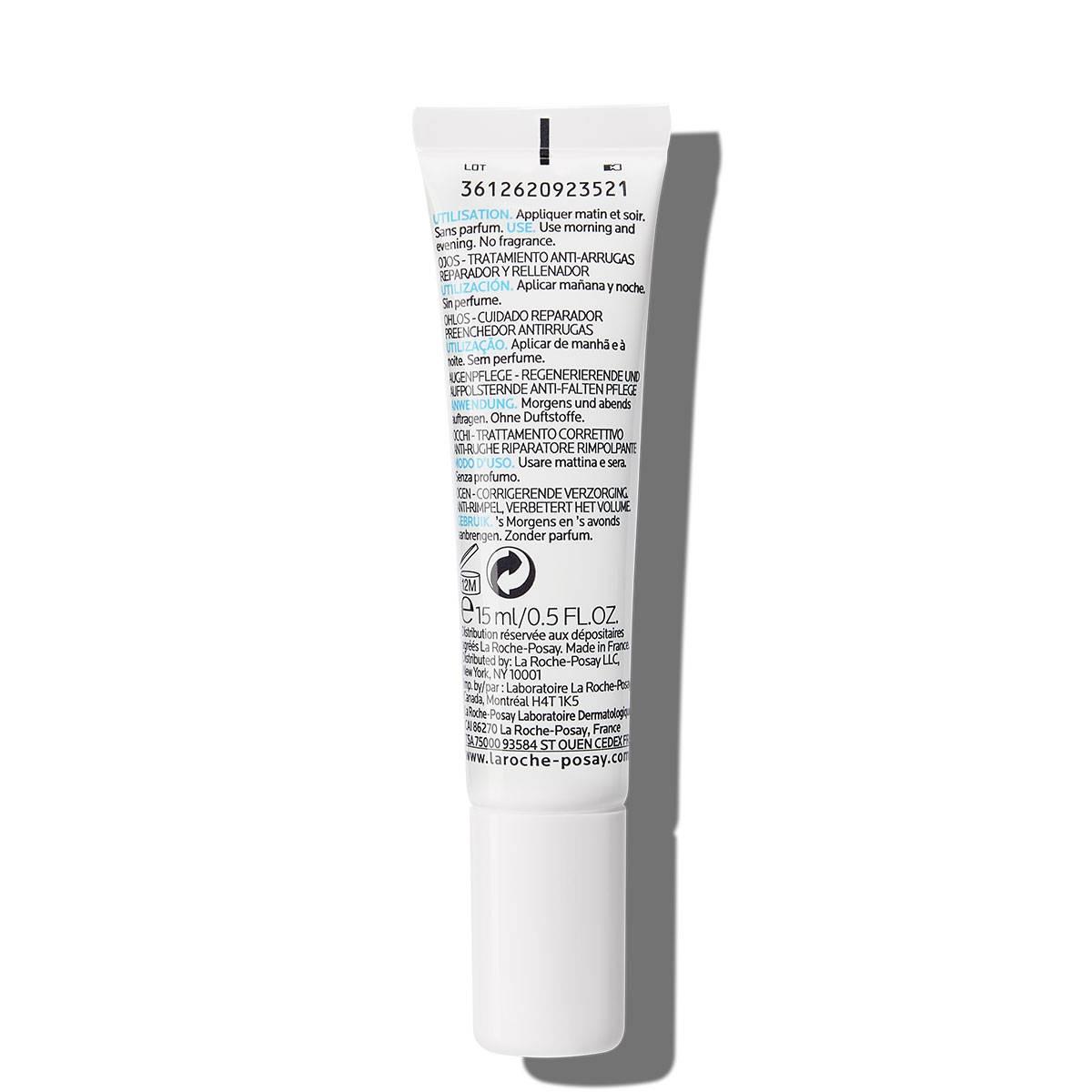 Krem pod oczy przeciwzmarszczkowy HYALU B5 OCZY 40 ml Tył | La Roche Posay