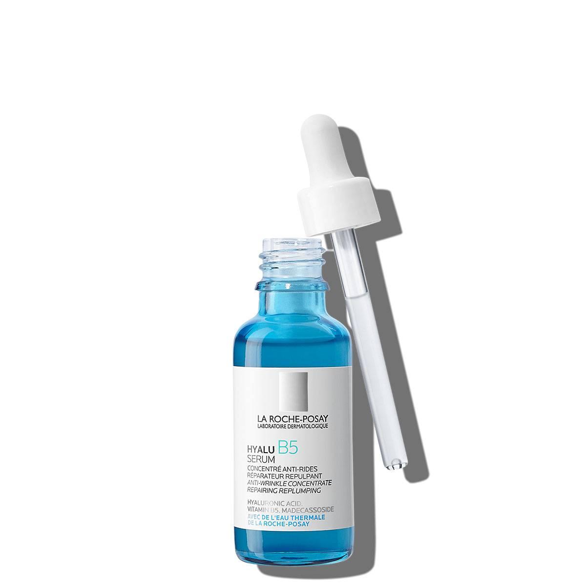 Serum przeciwzmarszczkowe do twarzy HYALU B5 SERUM 30 ml Przód otwarty | La Roche Posay