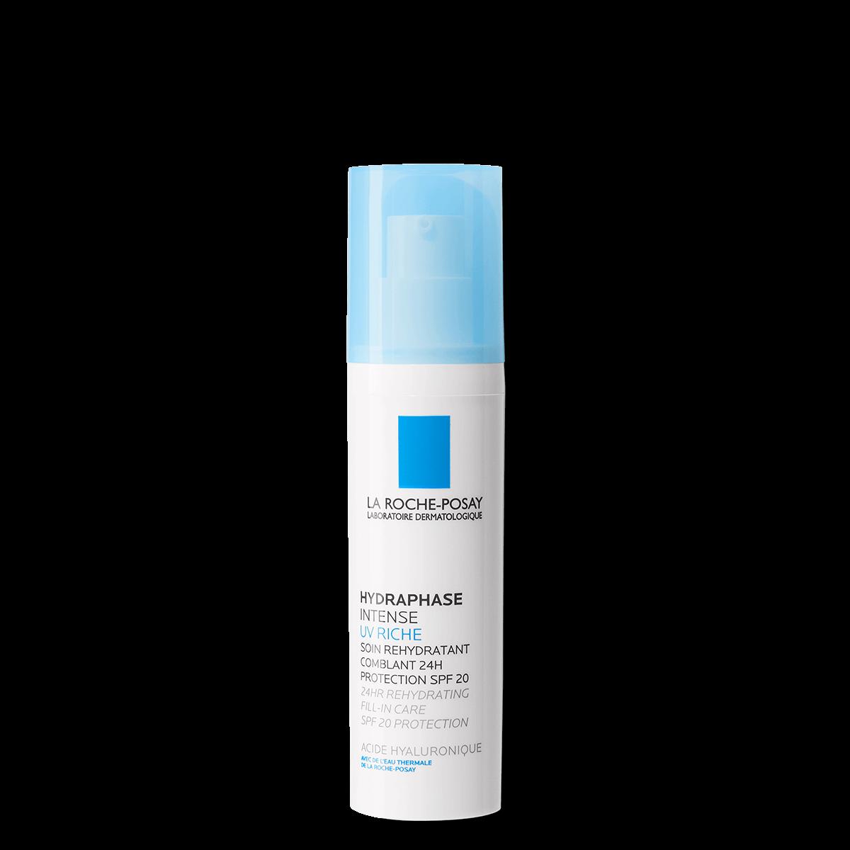 Krem nawilżający z filtrem uv HYDRAPHASE UV INTENSE RICHE SPF 20 50 ml Przód | La Roche Posay