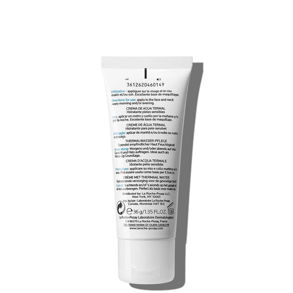 Lekki krem nawilżający do twarzy HYDREANE LEGERE 40 ml Tył | La Roche Posay