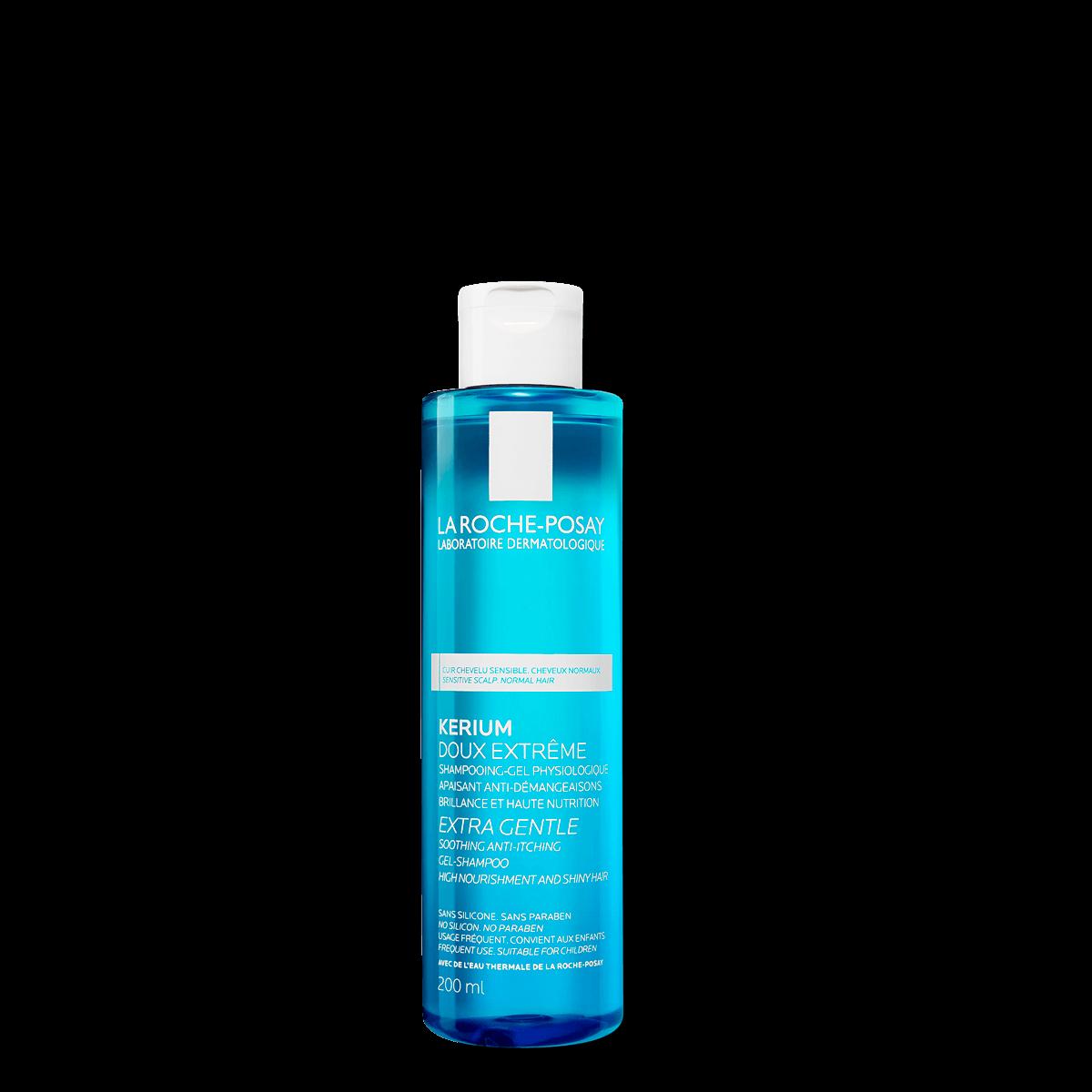 Kerium Extra Gentle Gel Shampoo 200 ml Przód | La Roche Posay