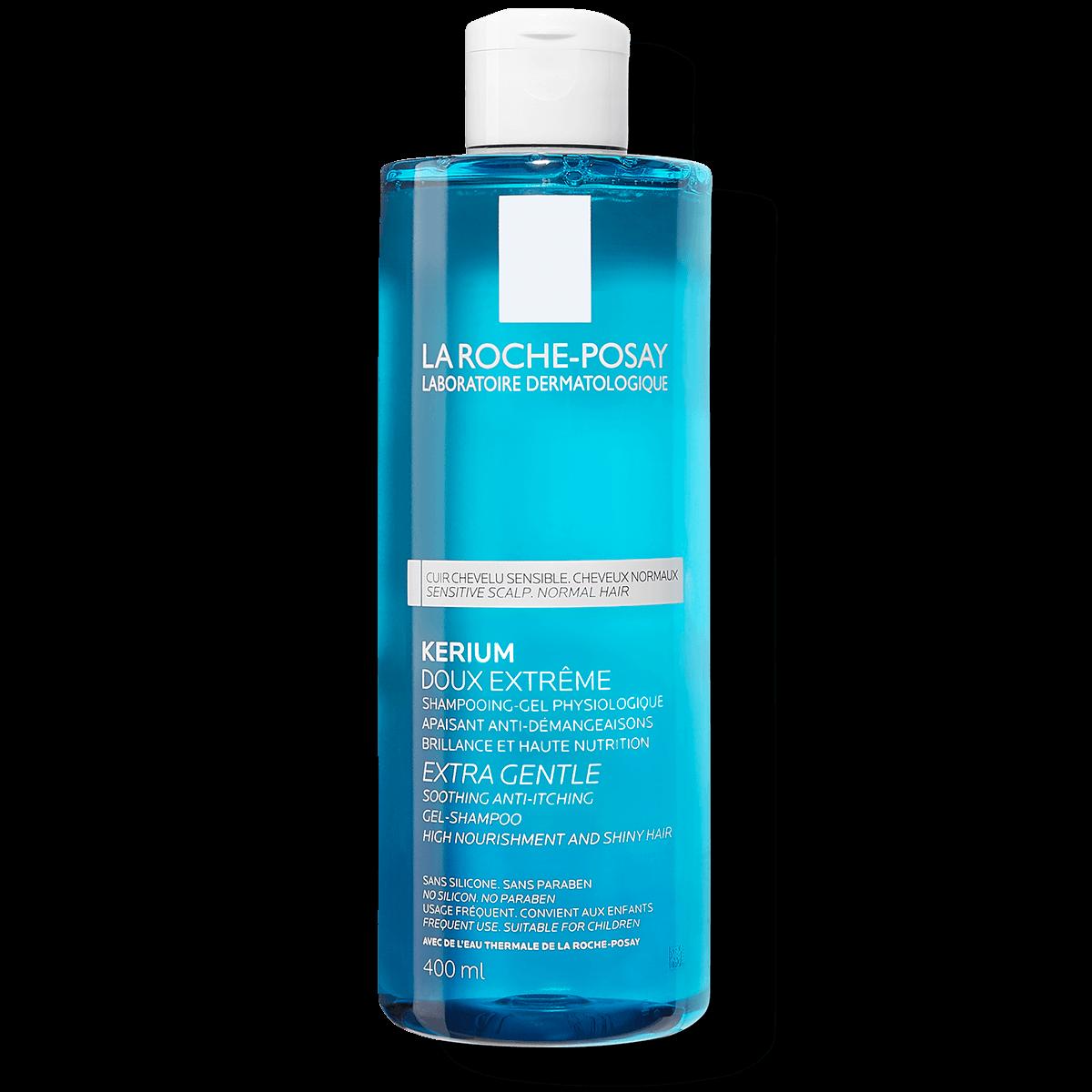 Szampon oczyszczający skórę głowy DELIKATNY SZAMPON OCZYSZCZAJĄCY 400 ml Przód | La Roche Posay
