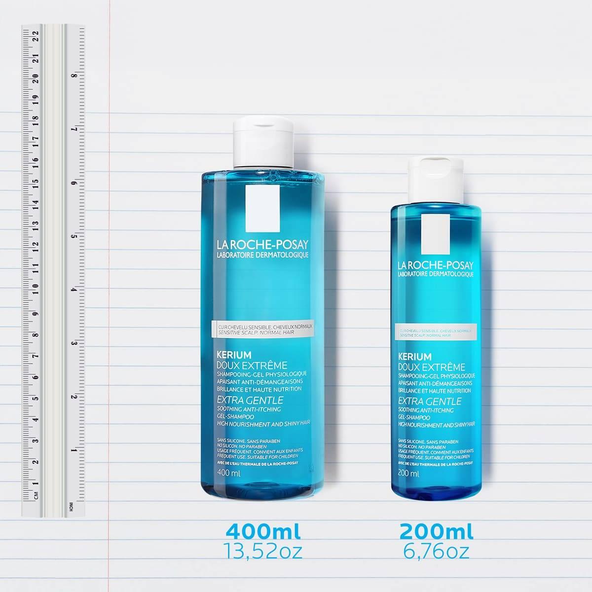 Kerium Extra Delikatny szampon w żelu Rodzina | La Roche Posay