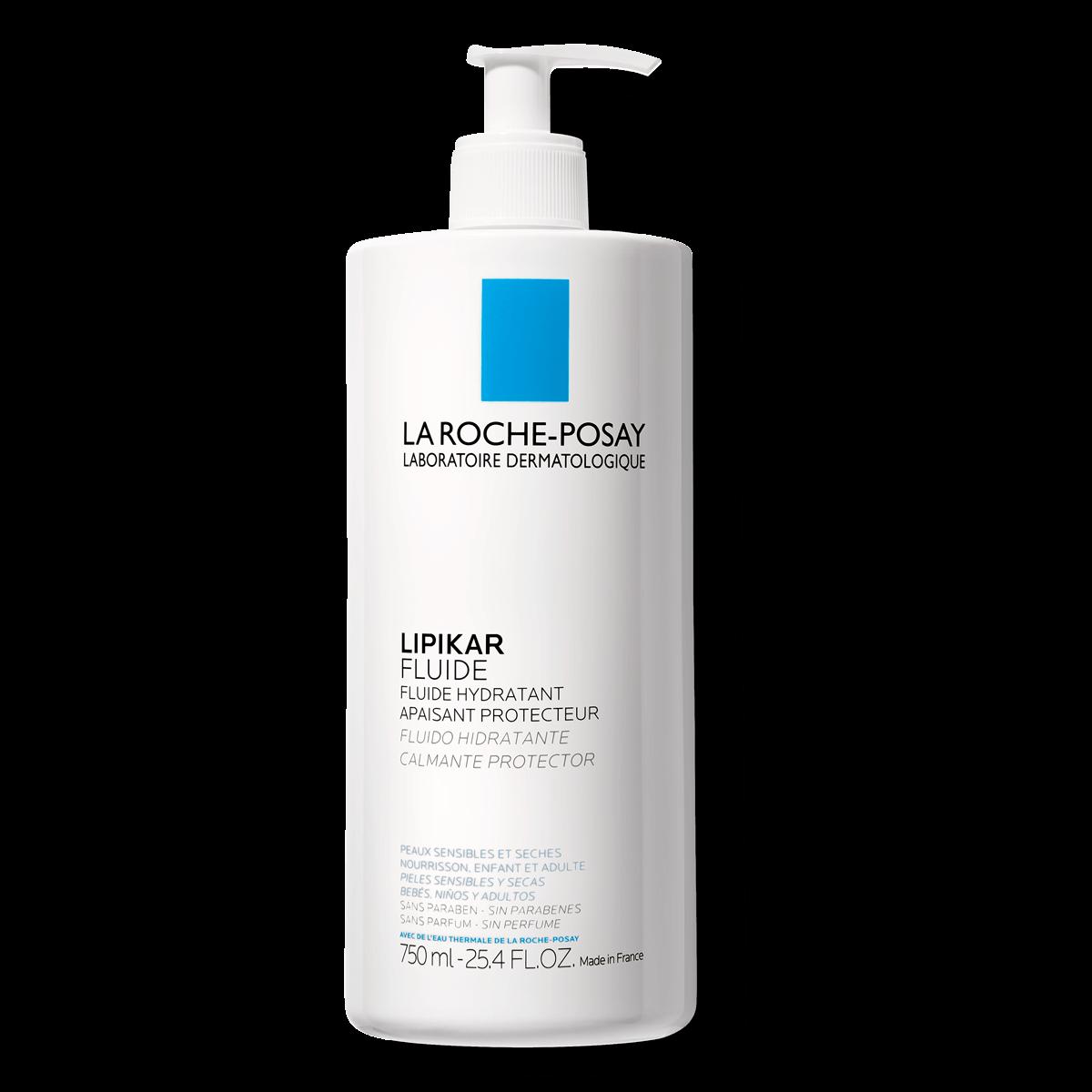 Lipikar fluid Lipikar Fluide 750 ml Przód | La Roche Posay