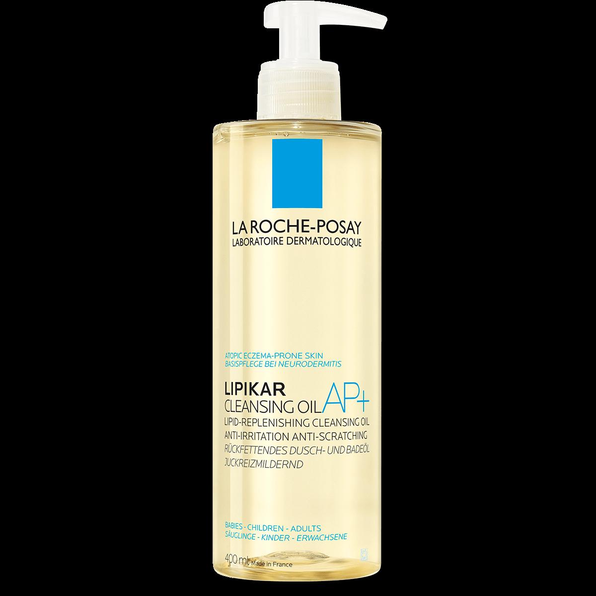 Lipikar Cleansing Oil AP 400 ml Przód | La Roche Posay