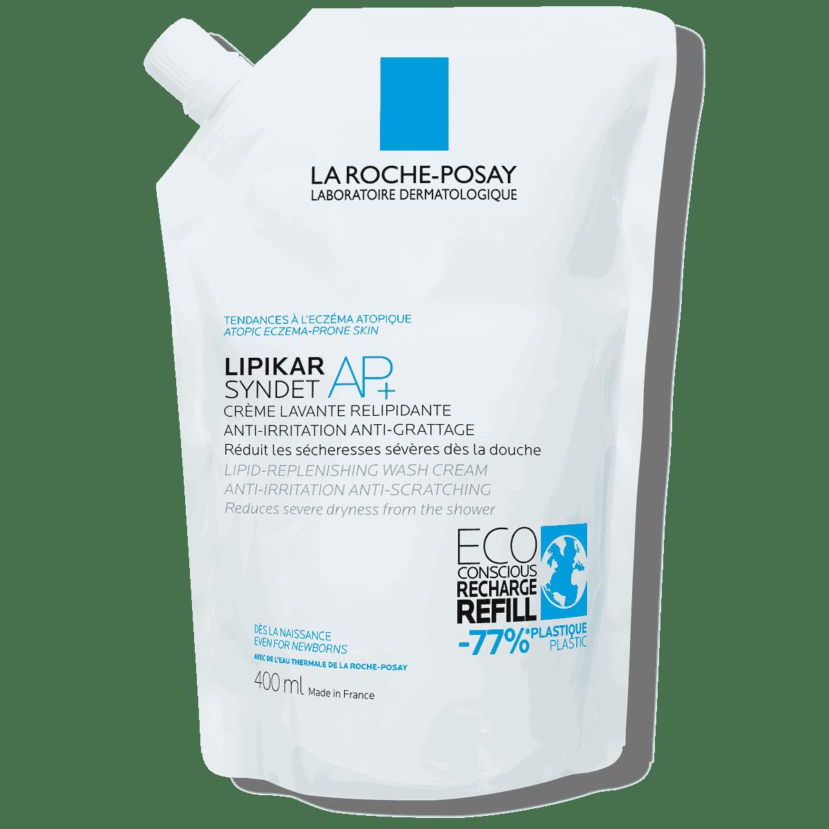 Lipikar Eco conscious Refill Syndet AP 400 ml | La Roche Posay