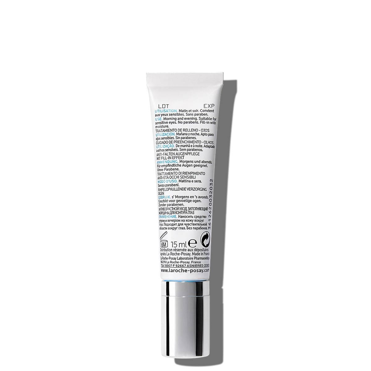 Ujędrniający krem pod oczy REDERMIC C OCZY 15 ml Tył | La Roche Posay
