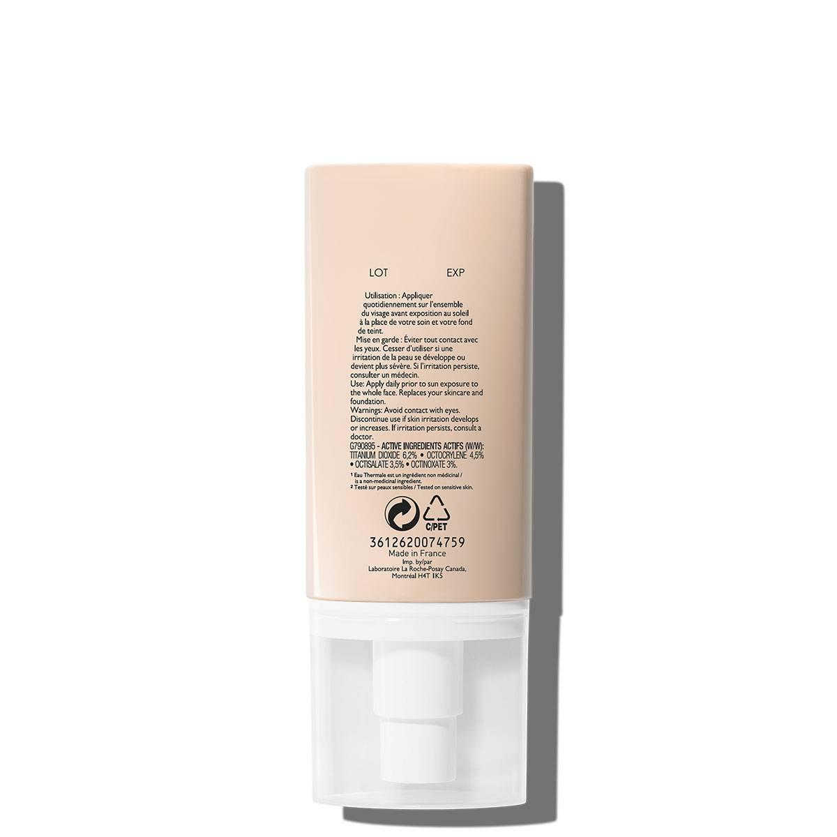 Krem cc do cery naczynkowej ROSALIAC CC KREM DO TWARZY 50 ml Tył | La Roche Posay