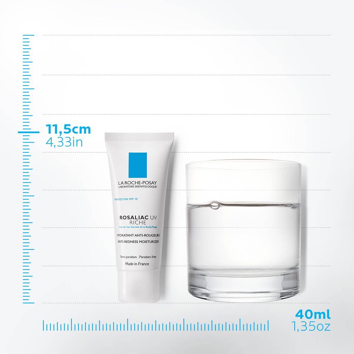 Pielęgnacja twarzy Rosaliac UV Rich Spf15 40 ml 78   La Roche Posay