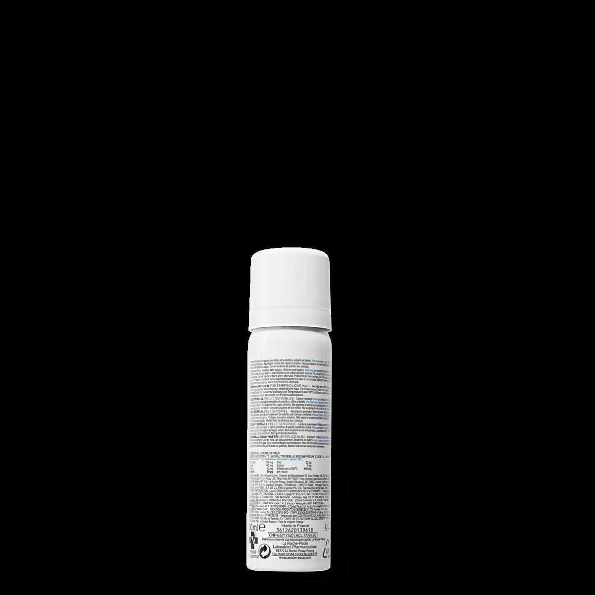 Woda termalna do twarzy WODA TERMALNA Z LA ROCHE-POSAY 50 ml Tył | La Roche Posay
