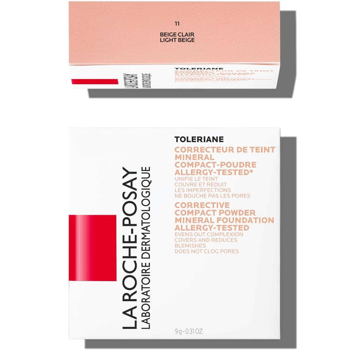 Toleriane Make up COMPACT POWDER 11 LightBeige   La Roche Posay
