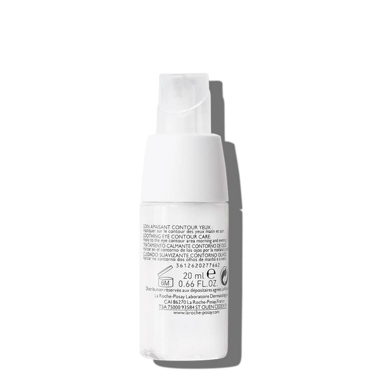 Delikatny krem pod oczy TOLERIANE ULTRA OKOLICE OCZU 20 ml Tył 2 | La Roche Posay