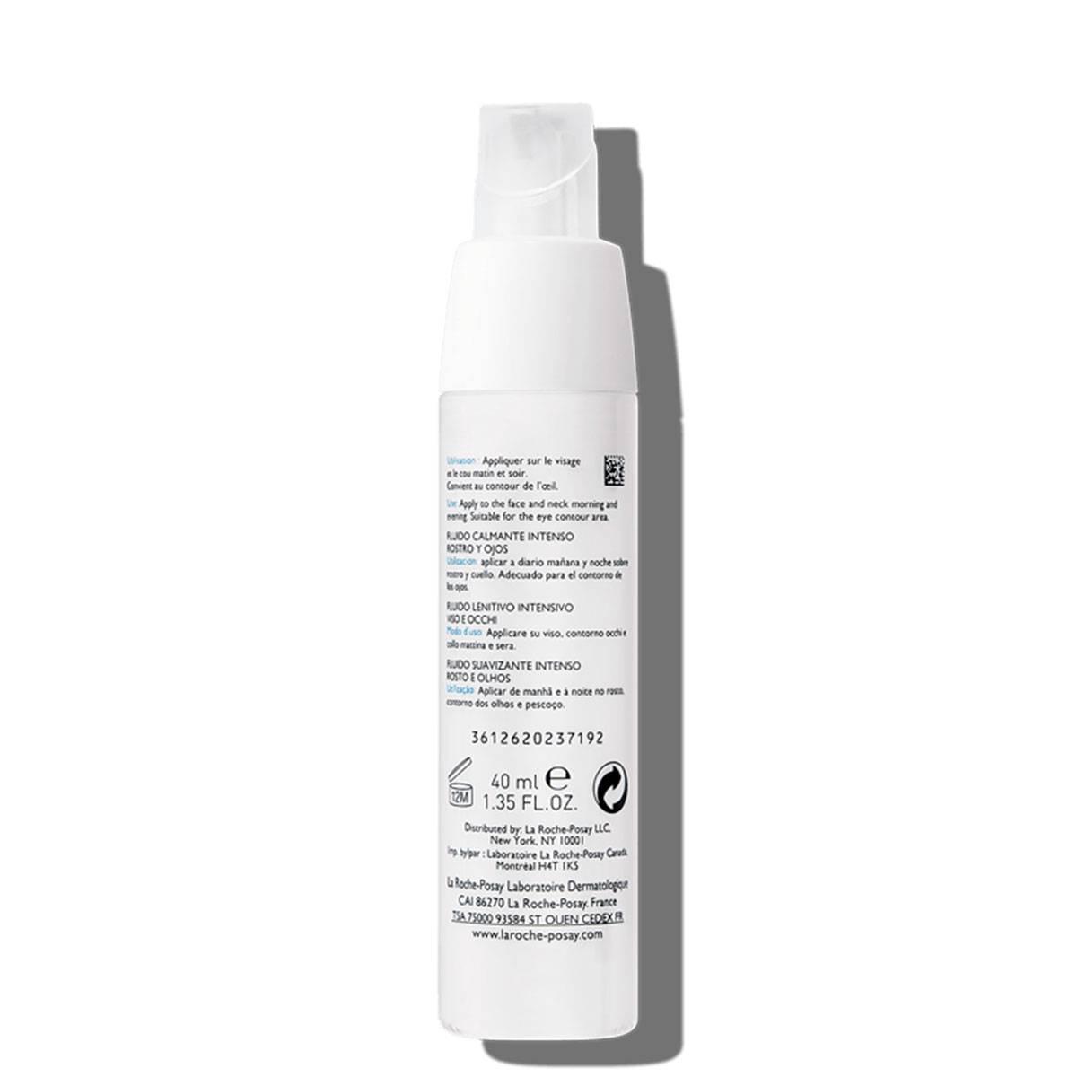 Toleriane Ultra Fluide 40ml Intense Soothing Fluid Face Eyes Tył | La Roche Posay