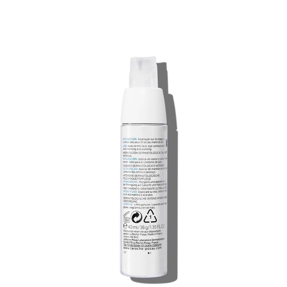 Krem łagodzący do twarzy TOLERIANE ULTRA 40 ml Tył | La Roche Posay