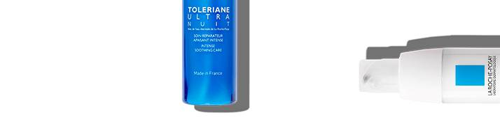 wrażliwa skóra toleriane seria początek dół | La Roche Posay